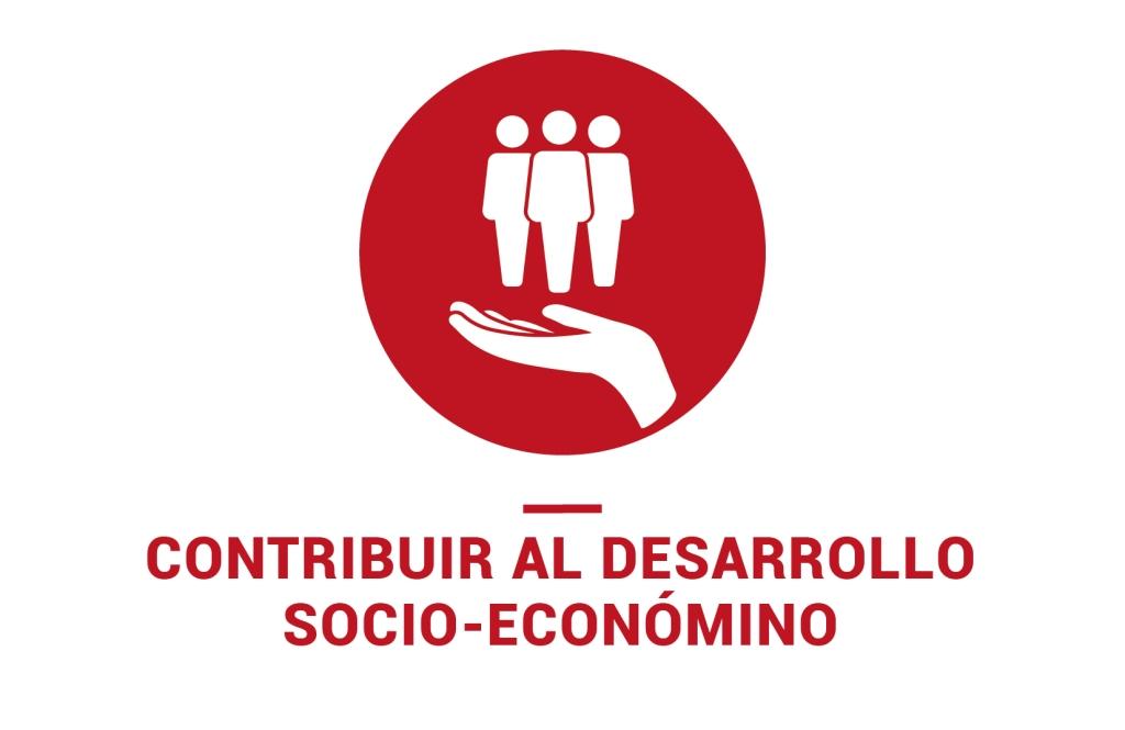 Contribuir al desarrollo social, económico y ambiental.